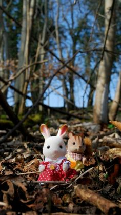 Sylvanian Families figures at Hatchlands