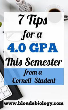 biology college Seven Tips to Get a GPA This Semester by Blonde Biology College Freshman Tips, College Snacks, College Majors, Education College, College Schedule, Espn College, College Packing, College Success, College Planner