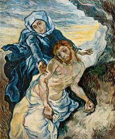Vincent van Gogh, Pieta * 1889 on ArtStack #vincent-van-gogh #art