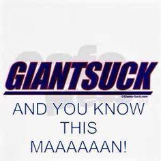 Giants suck go redskins