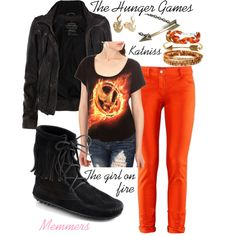 the hunger games outfit want!