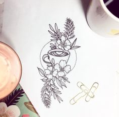 Best Tattoo inspiration 2017 - Celebrating the things that we will truly love forever ☕️by...