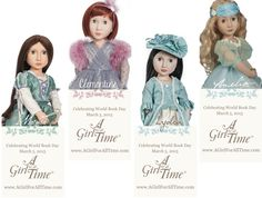 Just because Christmas is over, doesn't mean crafting has to stop! Here's one for you - make your own A Girl For All Time Bookmark!