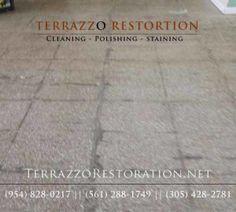 Terrazzo Floor Cleaning And Polishing In Sarasota