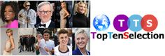 Top Ten Celebrities of the year