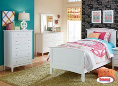 3326 WHITE BEDROOMS SETS
