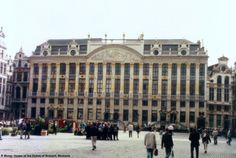 House of the Dukes of Brabant (neo classical) by Guillaume de Bruyn, Brussels