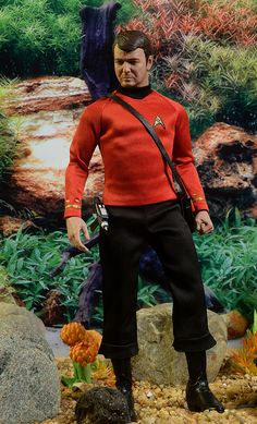 Scotty Star Trek Original Series sixth scale action figure by Quantum Mechanix Watch Star Trek, Star Trek Tos, Star Wars Poster, Star Wars Art, Scotty Star Trek, Star Trek Action Figures, Godzilla Toys, Star Trek Characters, Star Trek Original Series