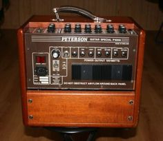 Peterson P100g Great Vintage Guitar Amp