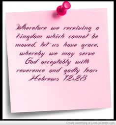Where With We May Serve God Acceptably And With Reverant Awe