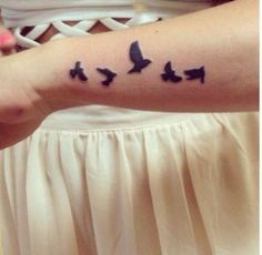 Bird Tattoos.