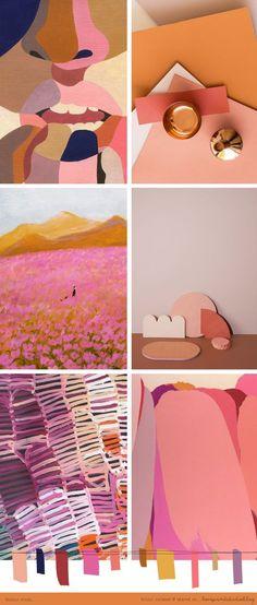 love print studio blog: Colour crush... moodboard / palettes / color / design / inspiration