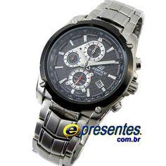 3507a4243a0 EF-524SP-1AV Relógio Casio Edifice Cronógrafo Relógio Casio