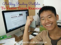 Building Reading Portfolio To Verify Teens Reading - Blessed Learners - Our Journey of Learning