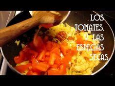 Un cubanísimo arroz con pollo a la Chorrera - YouTube Cuban Cafe, Cuban Recipes, Chicken Rice, Sweet Potato, Catering, Chicken Recipes, Make It Yourself, Vegetables, Youtube