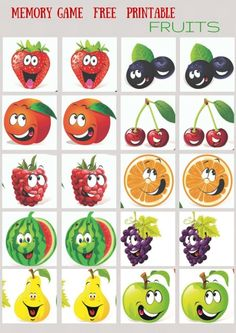 GROCERY - #MEMORY #GAME FREE FRINTABLES FOR YOUR KIDS