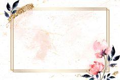Free and Premium frame images, vectors and psd mockups Framed Wallpaper, Flower Background Wallpaper, Cute Wallpaper Backgrounds, Flower Backgrounds, Watercolor Background, Wallpaper Powerpoint, Powerpoint Background Templates, Background Design Vector, Background Patterns
