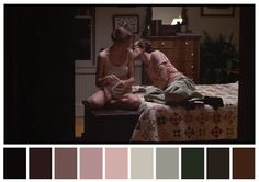 Cinema Palettes: Color palettes from famous movies - Annie Hall possible color palette for hamlet Wolf Of Wall Street, Street Art, Tag Art, Movie Color Palette, The Royal Tenenbaums, Grand Budapest Hotel, Moonrise Kingdom, Graffiti, American Psycho