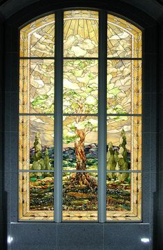 There are some images that make your day. I know I already posted a similar image of this window but its fantastic! San Antonio Texas LDS Temple Stained Glass Window by Tom Holdman