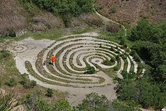 Sibley Volcanic Park labyrinth, Oakland, California, uncredited