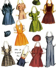 Dora Grows Up*1500 free paper dolls Arielle Gabriel's The International Paper Doll Society * also free Asian paper dolls The China Adventures of Arielle Gabriel my travel site * thanks to my Pinterest paper doll pals *