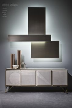 Milan Design Week 2016. 40/40 Dresser by Bartoli Design | Wall Light by Mark Anderson | Laurameroni