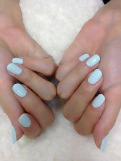 #uñas #nails #pretty #sencillas #faciles #blue #azul turquesa #manos #manicuras