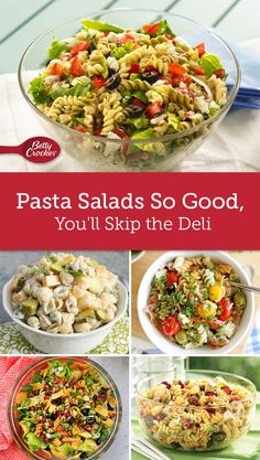 These top-notch pasta salad recipes will make you forget deli pastas even exist.