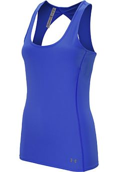 Go ahead, give it everything you've got! The UNDER ARMOUR® women's ArmourVent® tank will give you the cool comfort to push yourself to your limits.