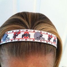 Ohio State No-Slip Headband. Love this one!!