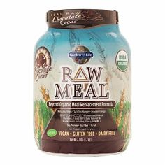 CHOCOLATE BLISS: Garden of Life RAW Meal, Chocolate!