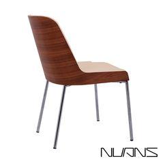 Hudson Plywood Chair Metal Base | Nuans | MetropolitanDecor