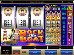 "★★★GAME SLOT LEMACAU"" ROCK THE BOAT "" ★★★"