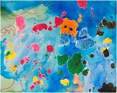 Wax Resist Art  http://www.playingbythebook.net/2009/12/07/art-wax-resist-painting-revisited/