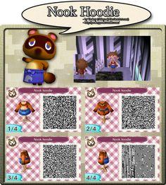 Nook Hoodie - QR Code by Nelaya