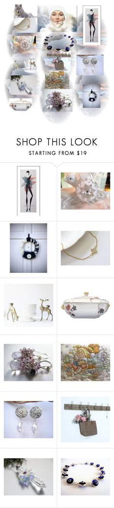 """Winter Essentials"" by anna-recycle ❤ liked on Polyvore featuring Haviland, Rustico, MATÌ, modern, rustic and vintage"