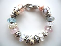 Trollbeads inspiration: Pastels (from tartooful.com)