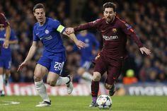 Hasil Liga Champions Messi Akhiri Paceklik Chelsea-Barcelona Imbang