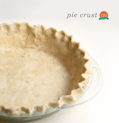 Easy Pie Crust Recipe, even has a video! Food The Fauxmartha Easy Pie Crust, Pie Crust Recipes, Pie Crusts, Unbleached Flour, Pie Dish, Baked Goods, Sweet Tooth, Sweet Treats, Favorite Recipes
