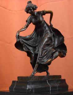 Art Deco bronze.
