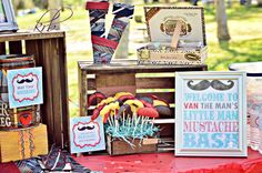 Mustache Party: printables