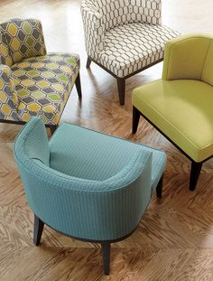 Grayson barrel chair makes a statement, upholstered in chunky, wool-like fibers in a solid basketweave design—resulting in a sophisticated look.