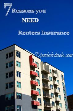 Renters insurance is so important. Here are 7 reasons why you NEED it.