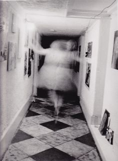 Ghosts. How eerie is this?