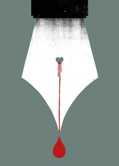 Scripturient - Possessing a violent desire to write. / Unusual Words Rendered in Bold Graphics | Brain Pickings