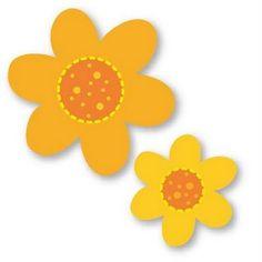 Moldes eva flores
