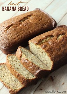 Best Banana Bread Recipe EVER! So yummy! #bananabread