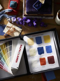 Discover 400 one-of-a-kind paint colors - a palette that draws on over 4 decades of iconic Ralph Lauren design.