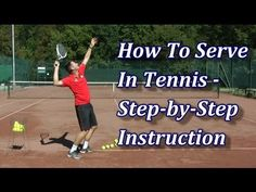 http://www.feeltennis.net/serve-technique/ If you want to learn how to serve in tennis with correct technique, then follow these 7 steps that guide you throu...