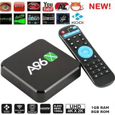 Smart TV Box A96X Amlogic S905X Quad Core Android 5.1 4K UHD Kodi media player #Twinpa